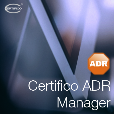 Certifico ADR Manager 2019: Disponibile!